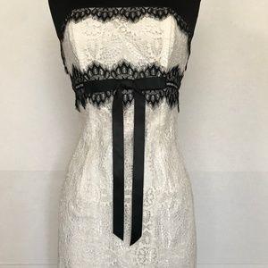 JESSICA McCLINTOCK, Women's Strapless Lace Dress 4